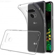 Tactical TPU Kryt Transparent pro LG G8s (EU Blister)