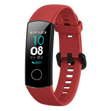 Tactical 442 Silikonový Řemínek pro Honor Band 4/5 Red (EU Blister)