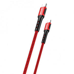 USAMS SJ290 Datový Kabel 2m Type C / Type C Red (EU Blister)