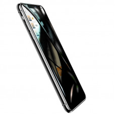 USAMS BH551 Tvrzené Sklo Anti Spy 0.33mm pro iPhone 11 Pro Max