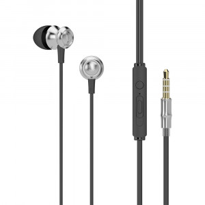 Premium Sound In-ear Earphones UiiSii US60 mini jack 3,5mm Silver