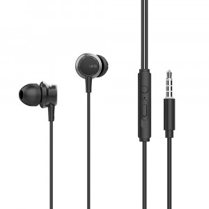 Premium Sound In-ear Earphones UiiSii HM9 mini jack 3,5mm Black