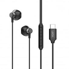 Sport Earphone Hi-Res Audio UiiSii C12 USB C Black