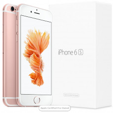 Apple iPhone 6S 128GB Rose Gold (Apple Certified Pre-Owned)