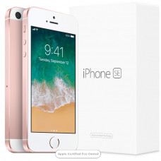 Apple iPhone SE 128GB Rose Gold (Apple Certified Pre-Owned)