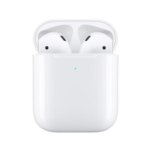 Apple AirPods 2 s bezdrátovým nabíjecím pouzdrem