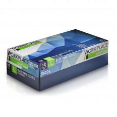 Jednorázové Vinylove rukavice Workplace Solution, 100ks, velkost L