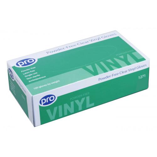 Jednorázové Vinylové rukavice PRO Hygiene, 100ks, velkost L