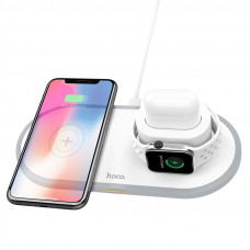 Wireless charger CW21 Wisdom 3-in-1 tabletop charging dock