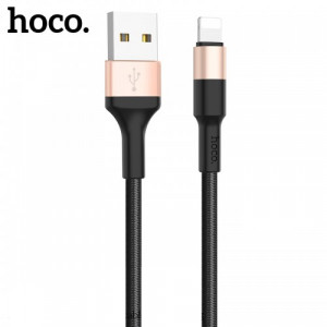 Hoco. Xpress Charging Data Cable for Lightning (Black and Gold)