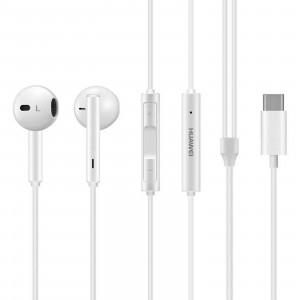 Original Stereo Headset Huawei CM33 USB typ C white (EU Blister)