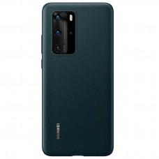 Huawei Original PU Pouzdro pro Huawei P40 Ink Green (EU Blister)