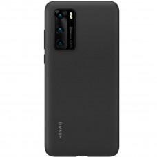 Huawei Original Silikonový Kryt pro Huawei P40 Black (EU Blister)