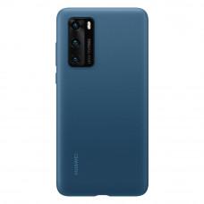 Huawei Original Silikonový Kryt pro Huawei P40 Ink Blue (EU Blister)