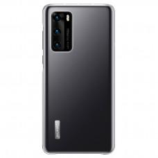 Huawei Original Ochranný Kryt pro Huawei P40 Transparent (EU Blister)