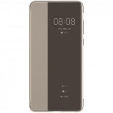 Huawei Original S-View Pouzdro pro Huawei P40 Pro Khaki (EU Blister)