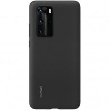 Huawei Original Silikonový Kryt pro Huawei P40 Pro Black (EU Blister)