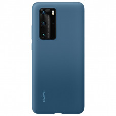 Huawei Original Silikonový Kryt pro Huawei P40 Pro Ink Blue (EU Blister)