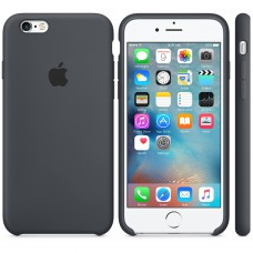 Pouzdro APPLE iPhone 6/6s Silicone Case  Charcoal gray