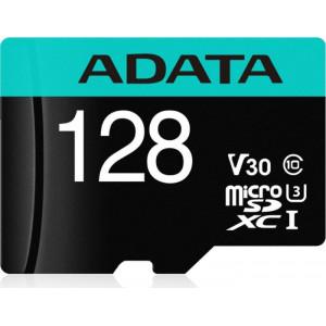 ADATA Premier Pro microSDXC UHS-I U3 Class 10 (V30S) 128GB + adaptér (EU Blister)