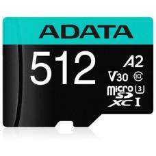 ADATA Premier Pro microSDXC/SDHC UHS-I U3 Class 10 (V30S) 512GB + adaptér (EU Blister)
