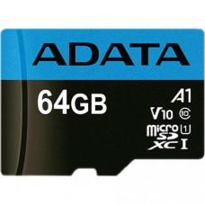 ADATA Premier microSDXC/SDHC UHS-I Class10 (A1, V10) 64GB + adaptér (EU Blister)
