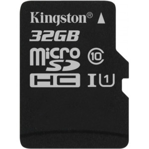 Kingston Canvas Select micro SDXC UHS-I U1 32GB + adaptér (EU Blister)