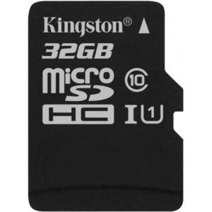 Kingston Canvas Select micro SDXC UHS-I U1 32GB + adaptér (EU Blister)