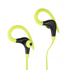 Bluetooth stereo slúchadlá s mikrofónem BX-61 black / lime