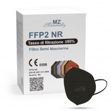 Manreally MZ respirátor FFP2 NR černý 1ks/bal