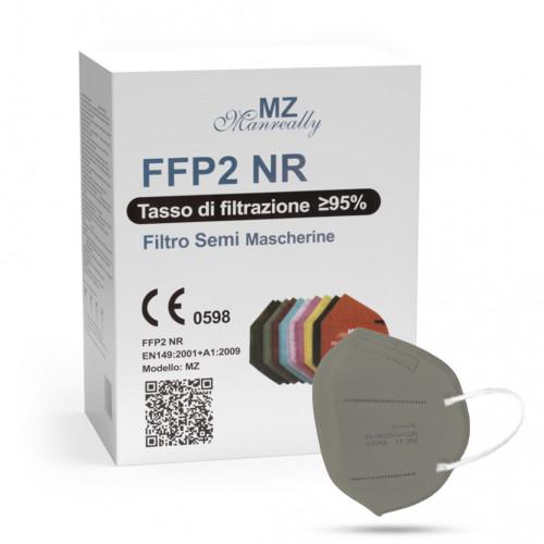 Manreally MZ respirátor FFP2 NR šedý 20ks/bal