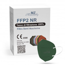 Manreally MZ respirátor FFP2 NR tmavě zelený 20ks/bal