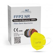 Manreally MZ respirátor FFP2 NR žlutý 1ks/bal