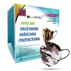 Media Sanex CTPL-0020 Respirátor FFP2 NR maskáčový 25ks/bal