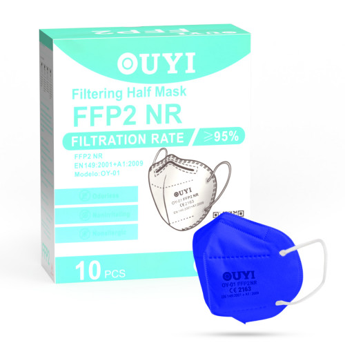 UYI OY-01 Respirátor FFP2 NR modrá 10ks/bal