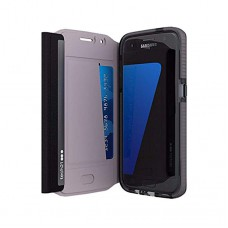 tech21 Evo Frame Wallet pro Samsung Galaxy S6 Edge Black