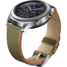 Samsung Gear S3 Náhradní Pásek Leather Green (EU Blister)