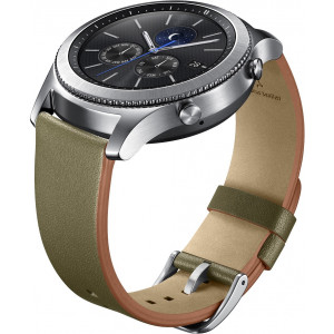 Samsung Leather řemínek 22mm Green (EU Blister)