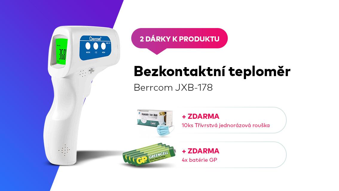 Bezkontaktní infračervený teploměr Berrcom JXB-178