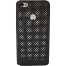 Xiaomi ATF4842GL Original Perforated Hard Case Black pro Redmi Note 5A (EU Blister)